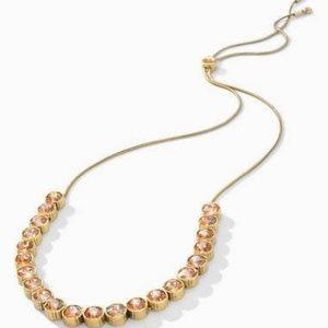 Vida champagne Stella & Dot necklace